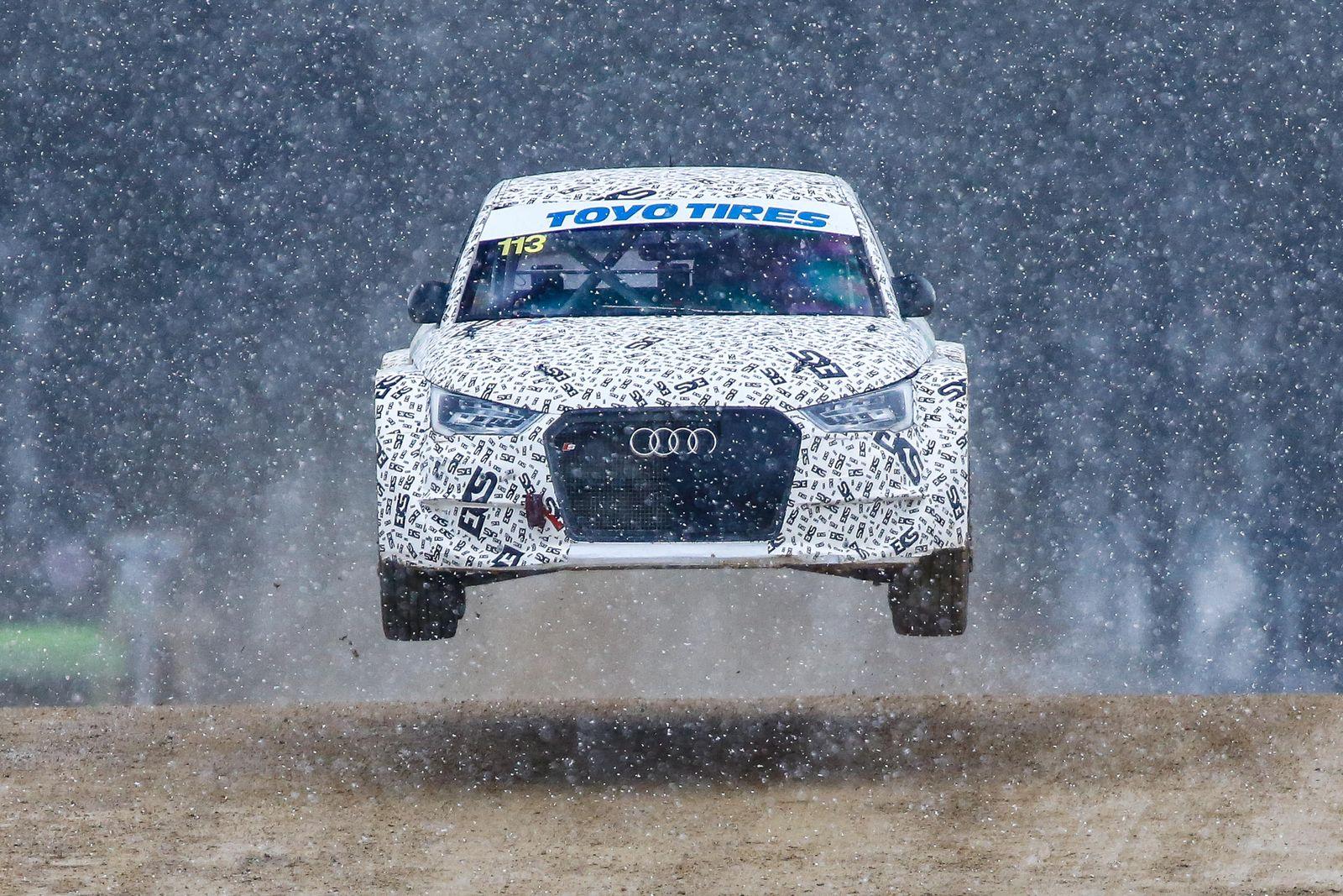 MSA  British Rallycross championship 2018. Round 1 Silverstone