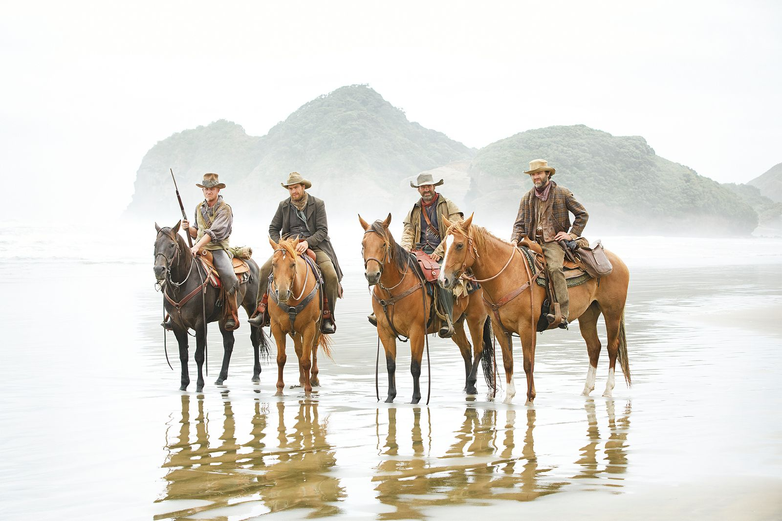 Cowboys Resting