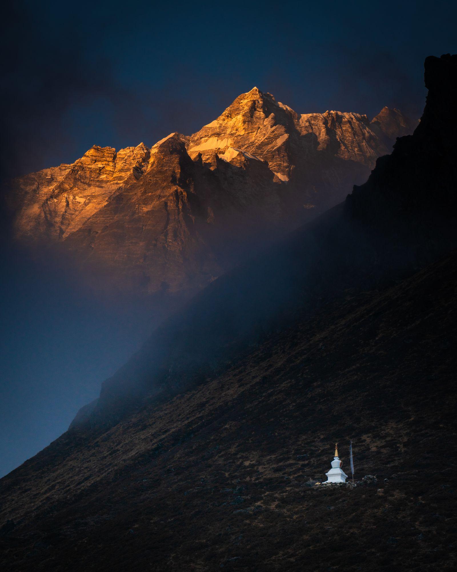 The Lone Stupa