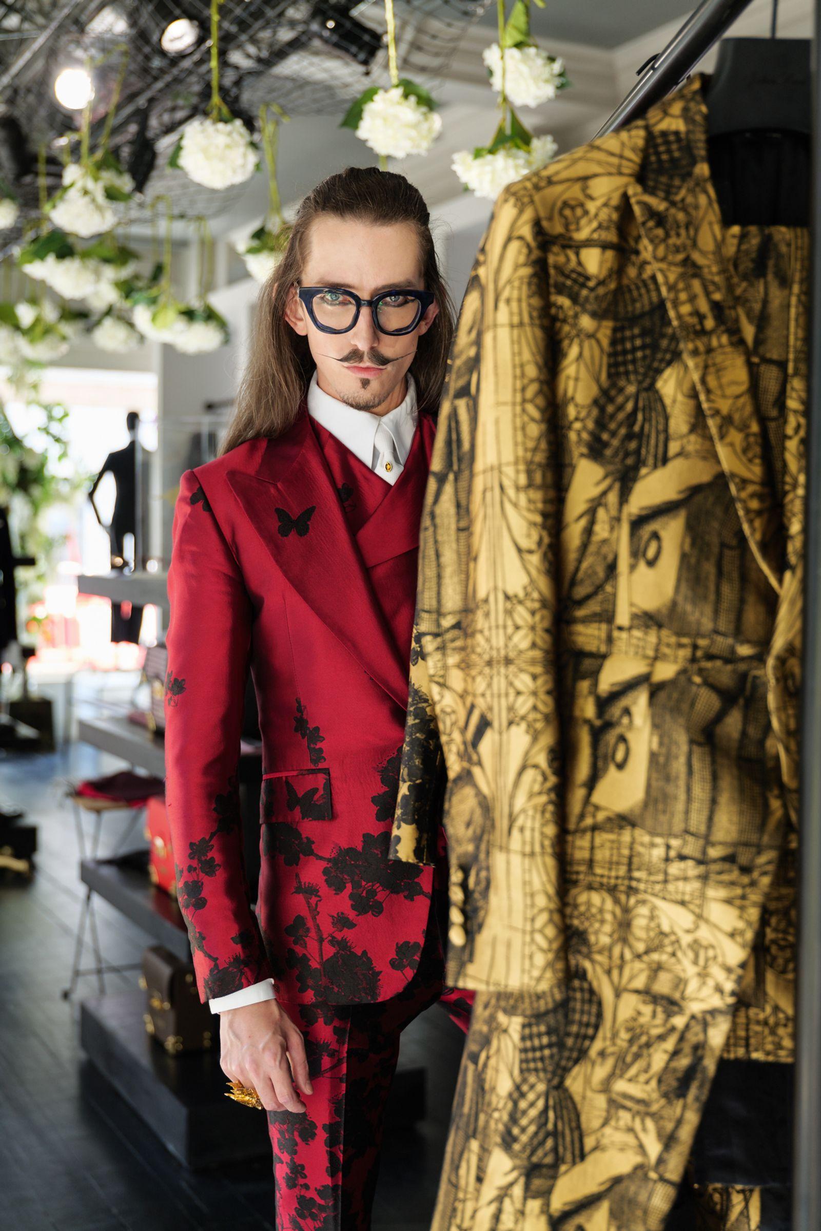 Fashion designer Joshua Kane