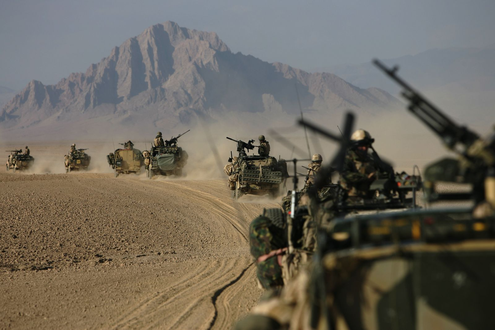 Afghanistan Desert Patrol re-taking of Musa Qala
