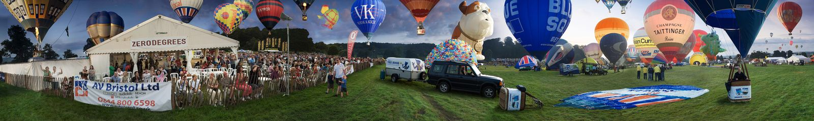 The Bristol Balloon Fiesta / Dead Air