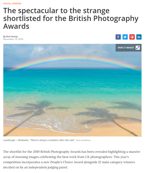 The British Photography Awards featured on New Atlas